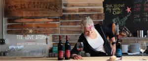 winemaker at the bar