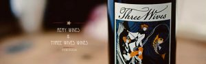 three wives wine label