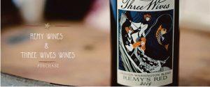 wine bottle closeup, artful label