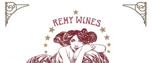 REMY WINES title with muse below