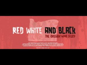 red white and black movie poster